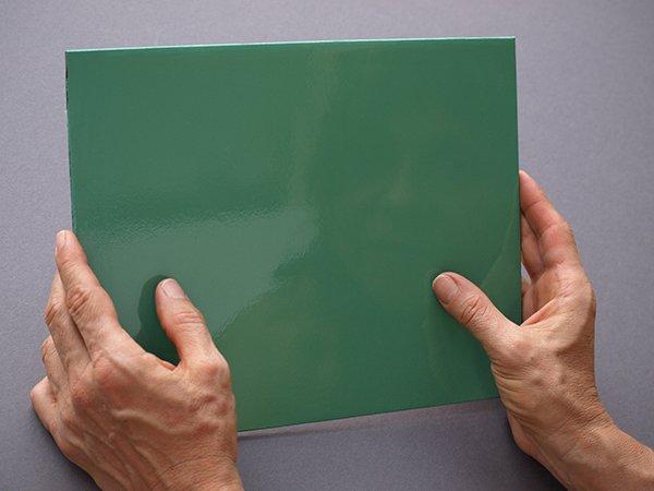 enamel finish using acrylic paint