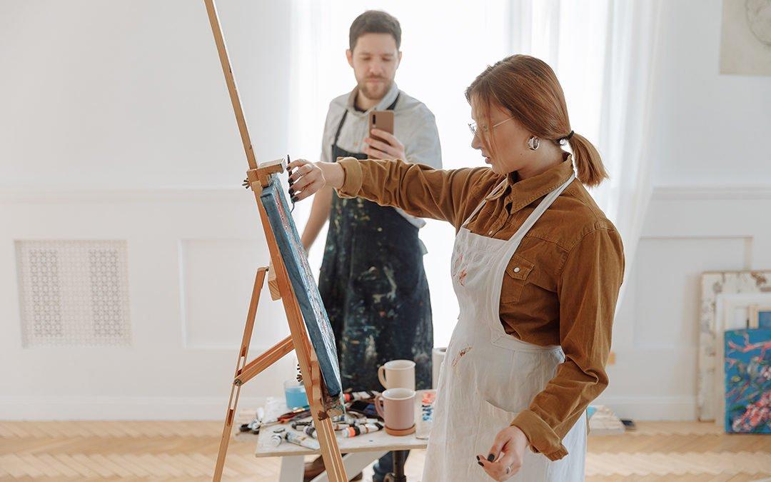 Setting Up Your Home Art Studio